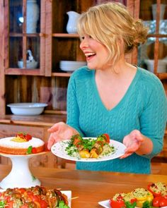 """Blooming Platter """"Vegan Q & A Tuesday"""" with Laura Theodore aka the """"Jazzy Vegetarian"""" + Laura's Spaghetti and Wheatballs Recipe 