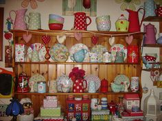My Kitchen Dresser by Debby-colour and chaos!, via Flickr