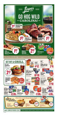 Lowes Weekly Ad April 19 - 25, 2017 - http://www.olcatalog.com/grocery/lowes-weekly-ad-circular.html