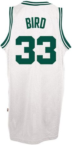 adidas Men s Larry Bird Boston Celtics Retired Player Swingman Jersey Tall  Men Fashion 777dfffad