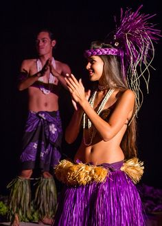Island dancers at the Feast at Lele in Lahaina, Hawaii, on the island of Maui.
