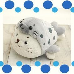 Sirotan Mascot - Spotted Seal (2 sizes) – The Happy Toy Store