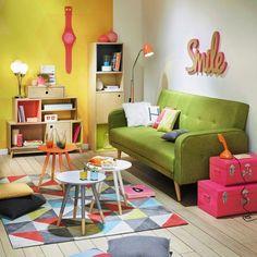 Casinha colorida: Especial salas de estar 2016: as vintage, as retrôs e as Mid Century Modern