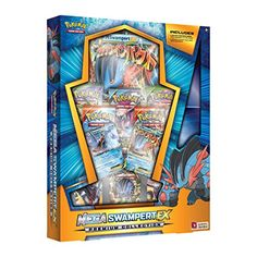 Mega Swampert-EX Premium Collection: Pokémon Trading Card Game (Includes Playmat)