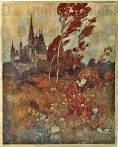 Vintage Fairy Illustrations   ... Fairy Tale Vintage DIGITAL Illustration. Digital Download. Edmund