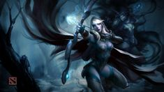 Official Drow Ranger Wallpaper, more: http://dota2walls.com/drow-ranger/official-drow-ranger-wallpaper