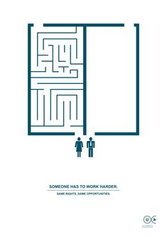 """Someone has to work harder."" Love this series of graphics from Manifesta Utilità!"