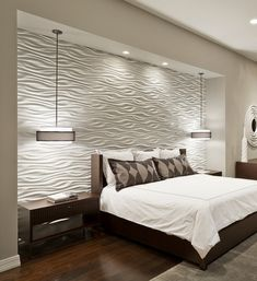 15 unique and interesting bedroom walls - Feature Wall Bedroom