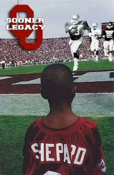 Another Shepherd dreaming of playing for the University of Oklahoma.    Via.  Oklahoma Football