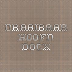 Draaibaar hoofd.docx