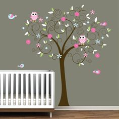 Perfect idea for sisters baby room... if its a girl!