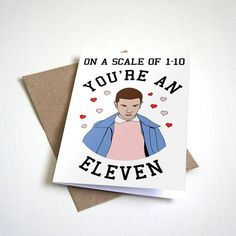 "This romantic card: | Community Post: 25 Perfect Gifts ""Stranger Things"" Fans Will Want To Keep For Themselves"