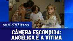 Câmera Escondida  Angélica é vítima do Pegadinha