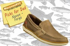 For the dad that loves comfort: Deck your feet out in style and comfort with the SKECHERS Relaxed Fit: Naven - Fargo shoe. SKECHERS.com