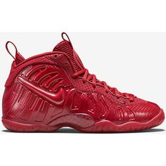 Nike Air Foamposite Pro Premium LE ($180) ❤ liked on Polyvore featuring nike