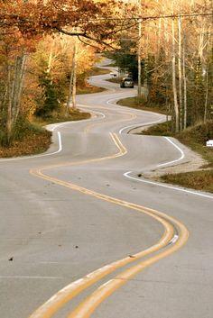 Door County | Wisconsin (by Allison Hare) Love this road!!