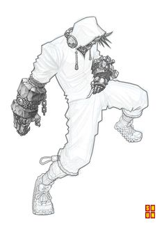 Fudo: Into The Beat II - WIP by Shun-008.deviantart.com on @deviantART