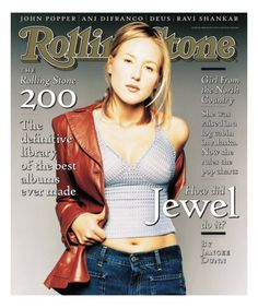Jewel, Rolling Stone no. 760, May 15, 1997 Photographic Print by Matthew Rolston at AllPosters.com