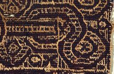 Fragment of Coptic Textile 004 by Queen's College Collections, via Flickr