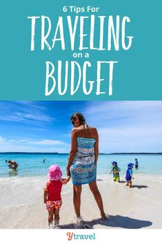 Want to travel on a budget? Here are 6 helpful tips for traveling on a budget for your next vacation. You can plan an incredible travel experience full of fun, adventure, new activities, and fun things to do - without spending a ton of money to have a great time.  See blog post for these travel planning tips now and plan your own incredible vacation on a budget! #travel #budget #travelbudget #vacation #familytravel #travelplanning #budgettravel