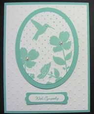 stampin up wildflower meadow | Wildflower Meadow stamp and embossing folder and A TIP FOR SAVING ...