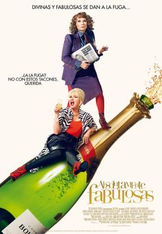 2016. Absolutamente Fabulosas - Absolutely Fabulous: The Movie