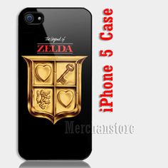 New Symbol The Legend Of Zelda Custom iPhone 5 Case Cover