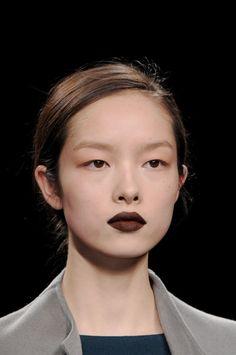 Brown makeup// ANTEPRIMA FW 2011