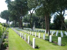 Rome war cemetery.