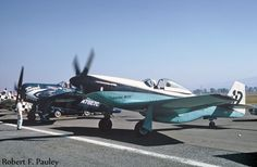 Lyle Shelton flew this Mustang in Unlimited Class competition in 1965. This photo was taken in 1965 at Reno Municipal Airport by Air Racing Historian Bob Pauley.