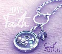 #Faith. Spirit Lockets #lockets