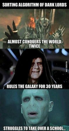 Voldemort is the worst villain in movie history