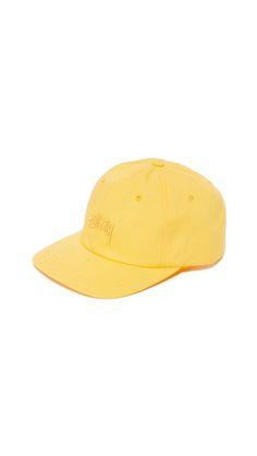 6bde3f6038f STUSSY Stock Logo Low Cap.  stussy  cap