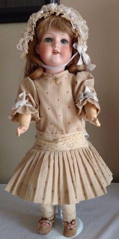 "Antique Armand Marseille 390 A 4 M Bisque Head Composition Body  20"" Doll"