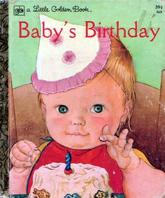 Baby's Birthday, Eloise Wilkin, 1972- Cover