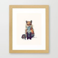 This stunning wall art. | 27 Essential Items For Bonafide Fox Lovers