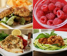 Weekly meal plan with recipes!