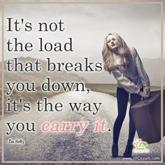 How are you carrying your stress load? Reduce Stress, Stress Management, Women Empowerment, Carry On, Therapy, Happy, Hand Luggage, Hand Carry Luggage, Female Empowerment