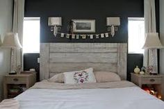 Image result for plank headboard