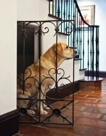 Dog house under stairs. So much better than a dog crate. wicked cute if i had stairs upstairs and if i put the dogs in crates Casa Milano, Niches, Up House, Girl House, Under Stairs, Dog Houses, Dream Houses, My Dream Home, Home Projects
