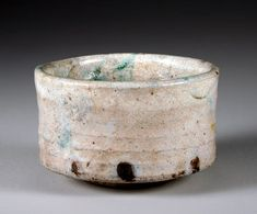 Raku tea bowls by Steve Irvine