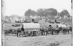 Savage's Station, headquarters of General George B. McClellan, June 27, 1862 - McClellan used the Richmond & York River Railroad to position his massive Army of the Potomac just a few miles from Richmond.