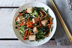 Citrus Ginger Tofu Salad with Buckwheat Soba Noodles | 15 Salads You'll Actually Be Excited To Eat
