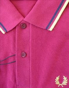 2e469807 Jump the Gun - Fred Perry M12 Polo Dark red Fred Perry, Polo Shirts,