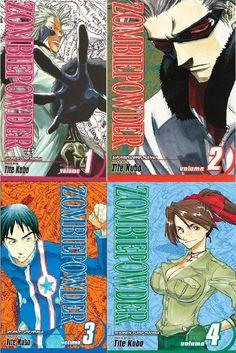 Kubo's first work. Nice one. Zombie Powder, Viz Media, Manga Covers, Dark Horse, Comic Books, Comics, Nice, Art, Art Background
