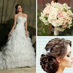 Here's a #DaVinci inspired bridal look for you future brides.