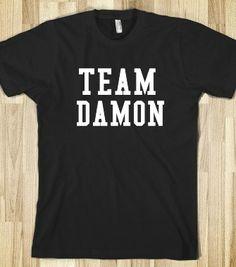 team damon salvatore - the vampire diaries