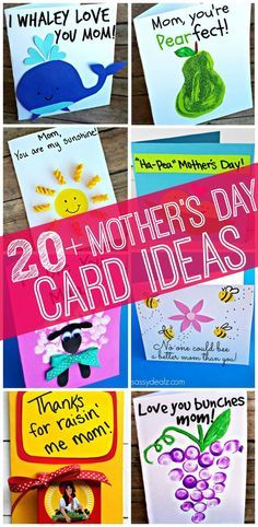 20+ Mother's Day Card Ideas for Kids to Make! |Crafty Morning