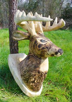 deer head....