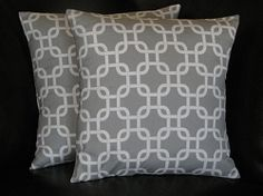 Great ideas for pillow fabrics